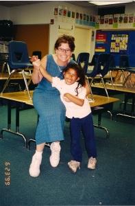 Carla and Street Soldier teacher, Ms. Thompson