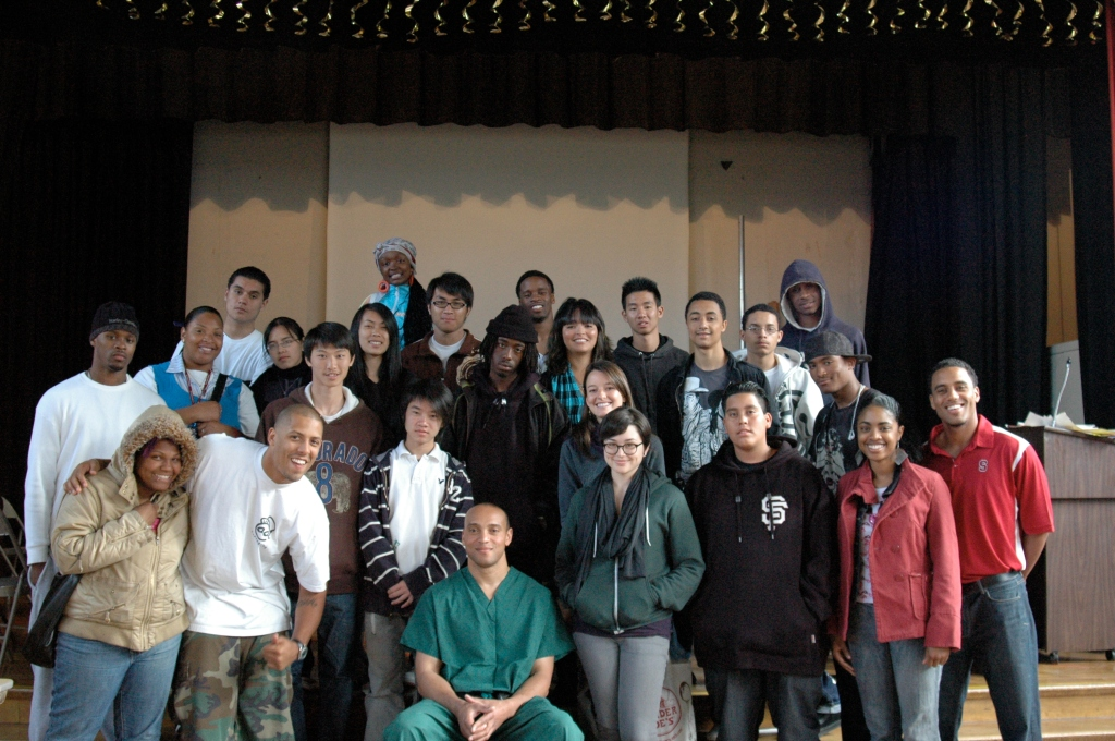 Posing for PEACE: TMP SF with Dr. Adam Warren